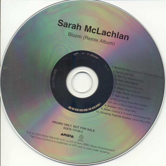 Sarah McLachlan Online – Solaced info » Bloom