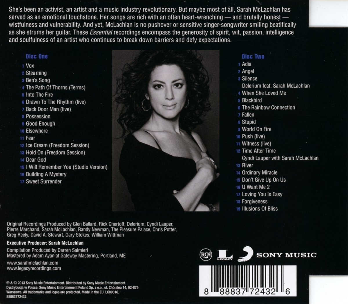 Sarah Mclachlan Online Solaced Info 187 The Essential